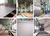 China Conveying Type Abrasive Blasting Equipment For Metal Fence Cleaning Industrial Use factory