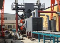 Roller Conveyor Shot Blasting Machine , Shot Peening Machine Heavy Duty