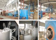 Roller Conveyor Steel Shot Blasting Equipment , Tubes Steel Shot Machine