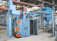 Forklift Structure Hanger Type Shot Blasting Machine , Shot Blast Cleaning Equipment