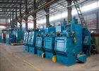 China Tumble Belt Blast Cleaning Machine Welding Parts Rust Removal Heavy Duty factory