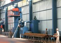 Q69 Series Steel Shot Blasting Equipment For Steel Parts Derusting High Speed