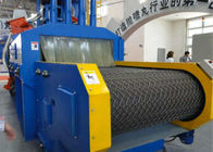 Blue Roller Conveyor Shot Blasting Machine , Automatic Blasting Machine ISO Certificated