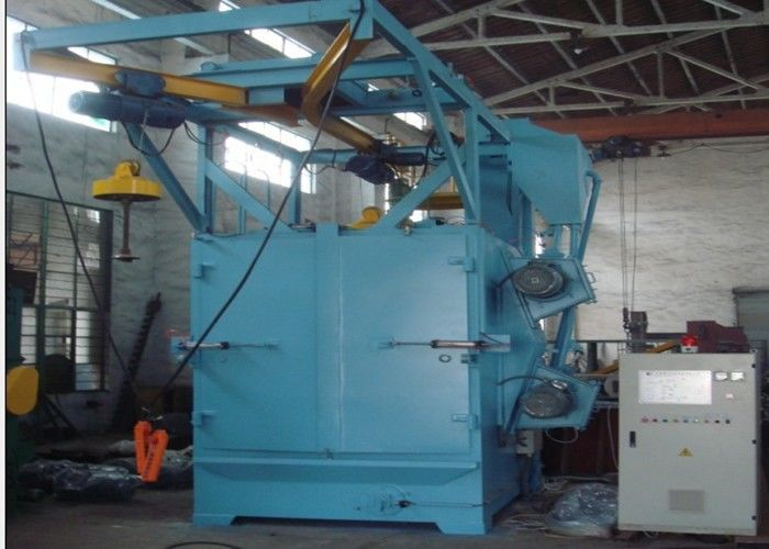 Rotary Hook Shot Blasting Machine , Auto Shot Blasting Machine Anti - Fatigue