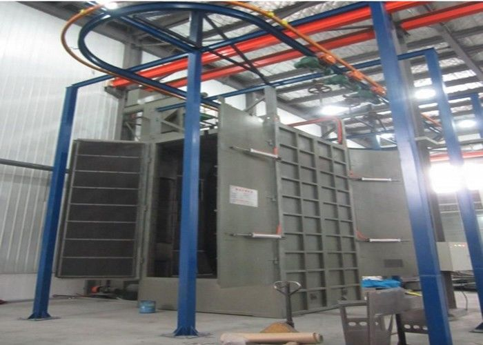 Dustless Steel Shot Blasting Equipment Tank Surface Polishing ISO9001