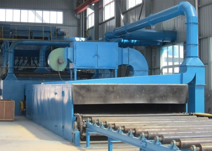 Surface Treatment Steel Plate Shot Blasting Machine Customized ISO9001