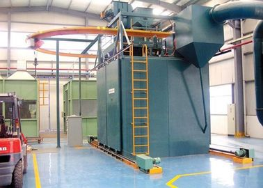 China Hook Type Automatic Shot Blasting Machine for Irregular Parts Critical Cleaning factory