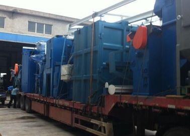 China Small Castings Polishing Tumble Blast Machine , Custom Shot Blasting Equipment distributor