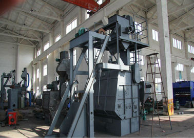China Tumble Belt Dustless Blasting Machine , Rust Removal Shot Peening Machine distributor