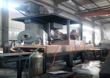 China Horizontal Stone Roller Conveyor Shot Blasting Machine Q69 Series Electrical Control distributor