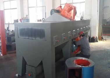 China Pass Through Steel Pipe Shot Blasting Machine , H Beam Shot Blasting Machine distributor