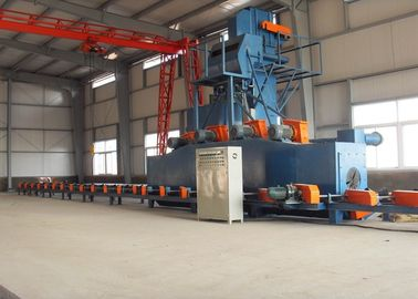China Automatic Steel Pipe Shot Blasting Machine Electric Outside Cleaning distributor