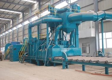 China Roller Conveyor Steel Plate Shot Blasting Machine Pretreatment Line Q698 distributor